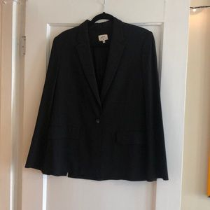 Black Wilfred Italian blazer jacket - worn once!